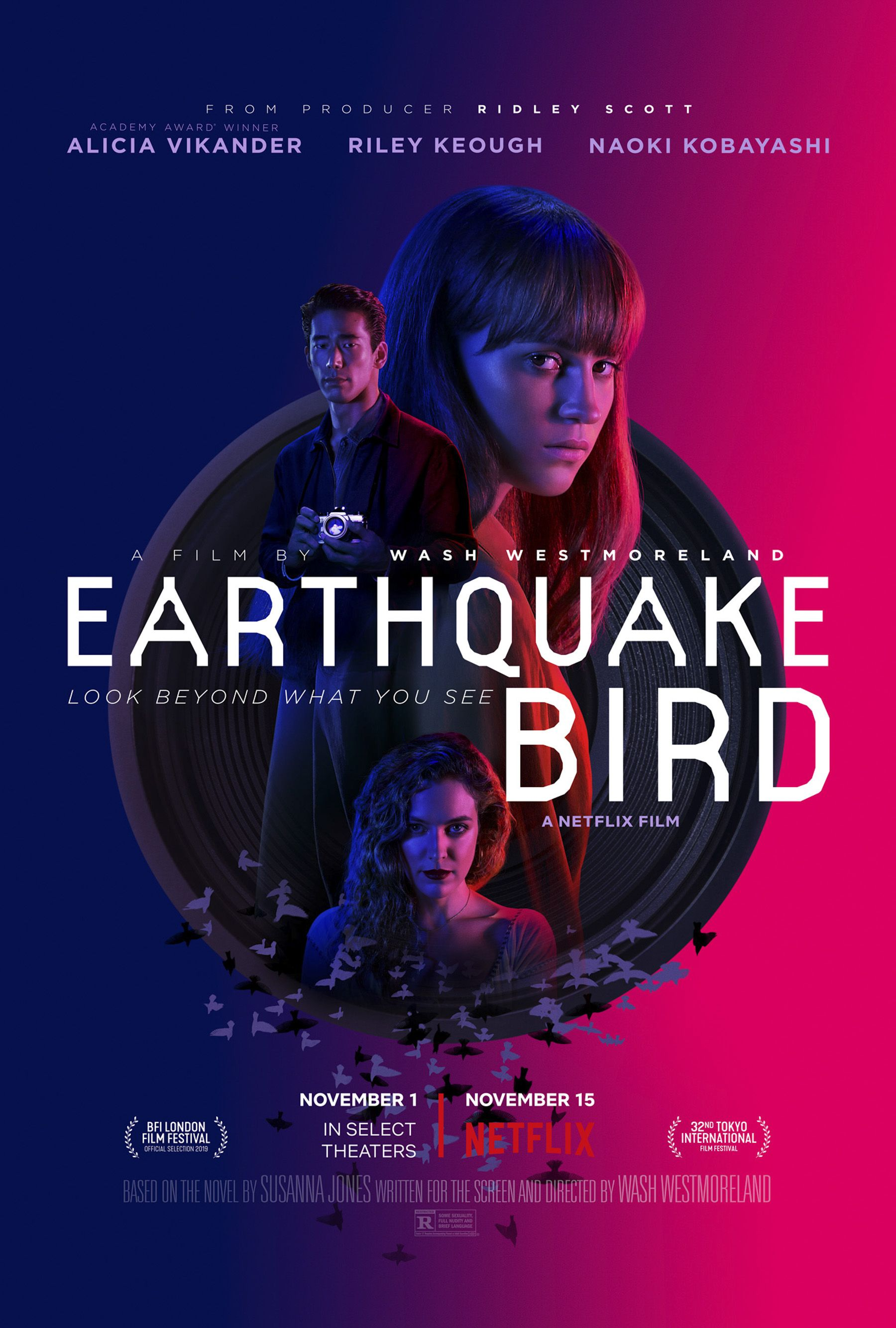 Earthquake Bird Netflix (2019)