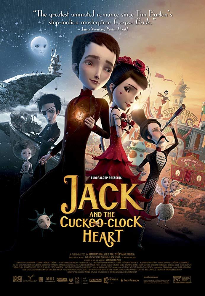 Jack and the Cuckoo-Clock Heart (2014) แจ็ค หนุ่มน้อยหัวใจติ๊กต็อก