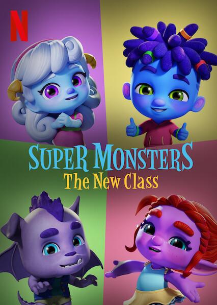Super Monsters The New Class   Netflix (2020) อสูรน้อยวัยป่วน ขึ้นชั้นใหม่